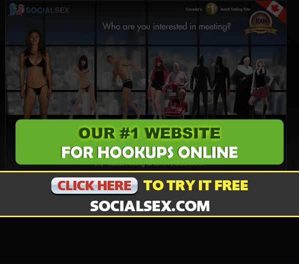 Screen Capture of the site SocialSex.com
