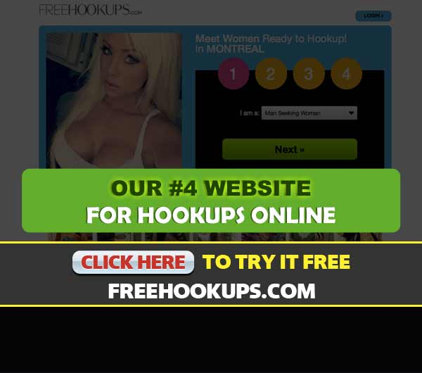 Screen Capture of the site FreeHookups.com